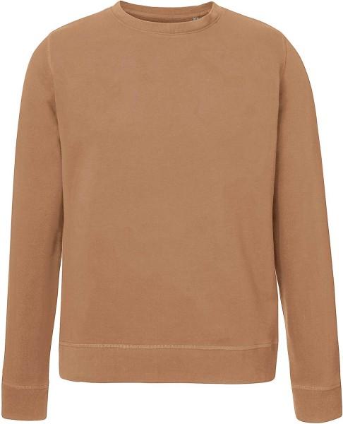 Sweatshirt Bio-Baumwolle - camel