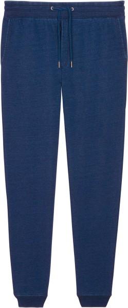 Jogginghose aus Bio-Baumwolle - mid washed indigo
