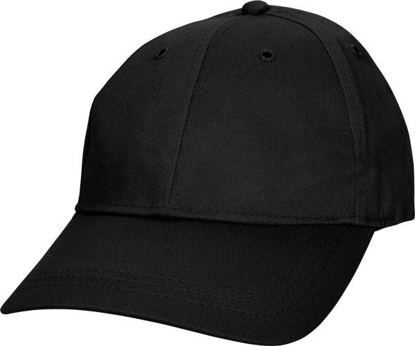 Baseballkappe - schwarz