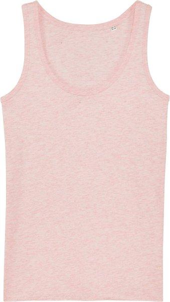 Tank-Top aus Bio-Baumwolle - cream heather pink