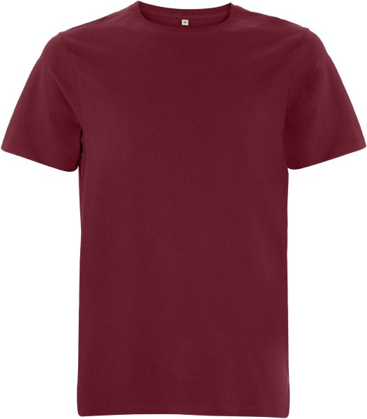 Organic Heavy T-Shirt - burgundy