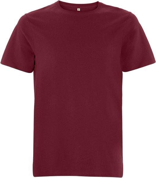 Organic Heavy T-Shirt - burgundy