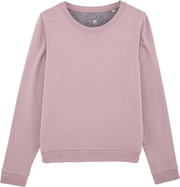 Sweatshirt aus Bio-Baumwolle - lilac peak/navy twist