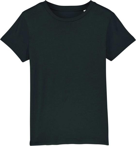 Kinder T-Shirt aus Bio-Baumwolle - black
