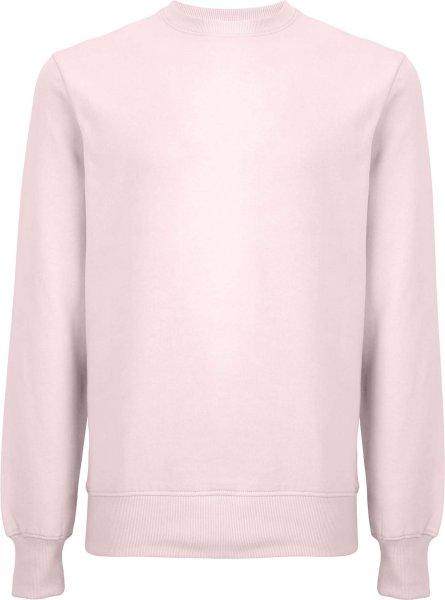 Unisex Sweatshirt aus Biobaumwolle - light pink