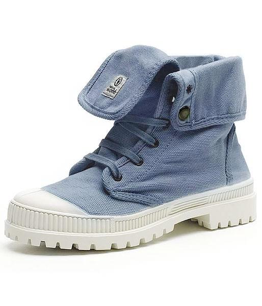 Bota Alta - Schuhe aus Bio-Baumwolle - lavanda - Bild 1