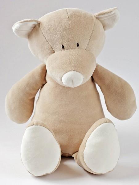 Kuscheltier Teddy aus Bio-Baumwolle - groß
