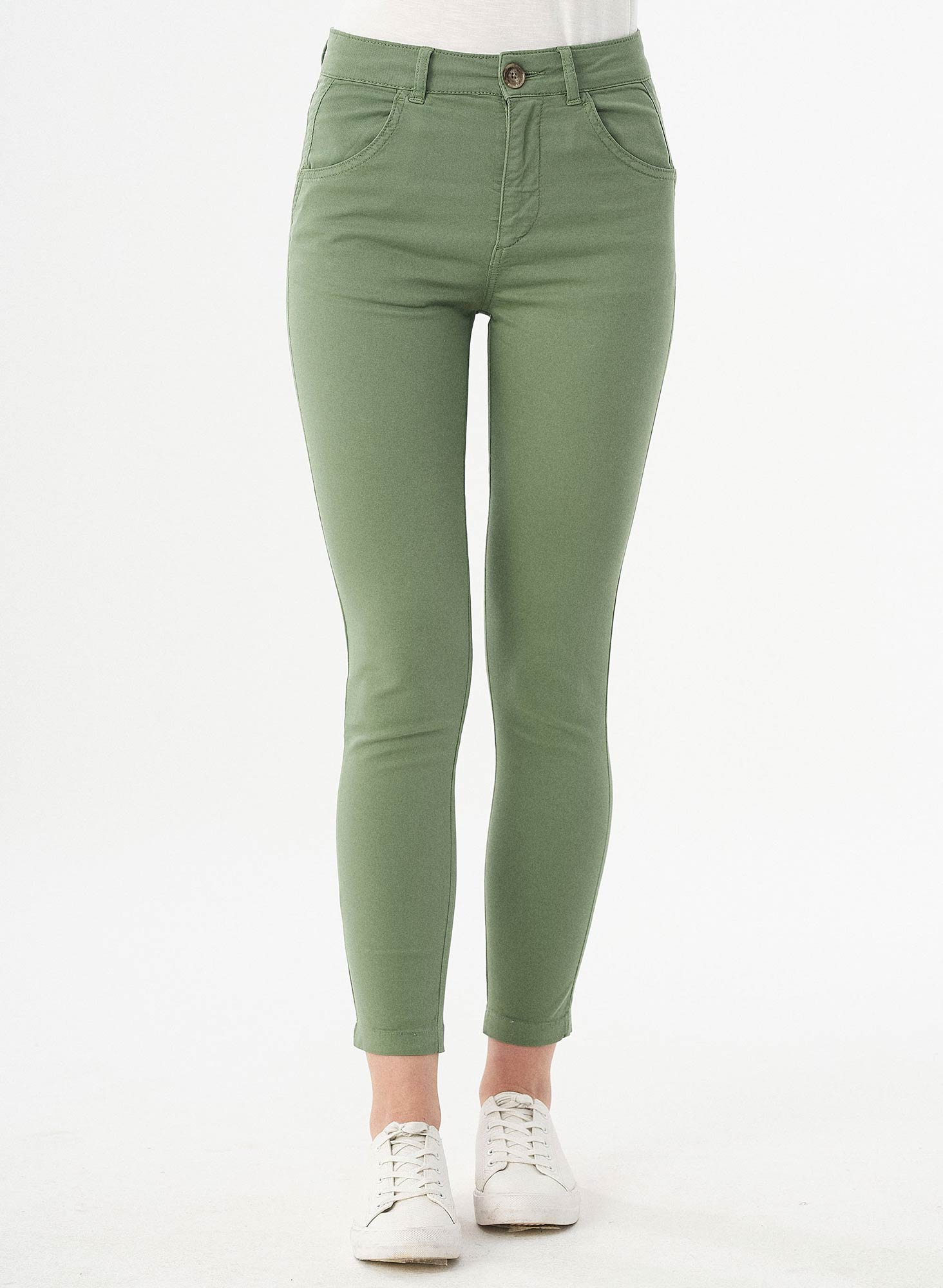 WOR11736-ferngreen-Damenhose-regular-fit-Seitentaschen-nachhaltige-Bio-Baumwolle-Elastan-oekofair