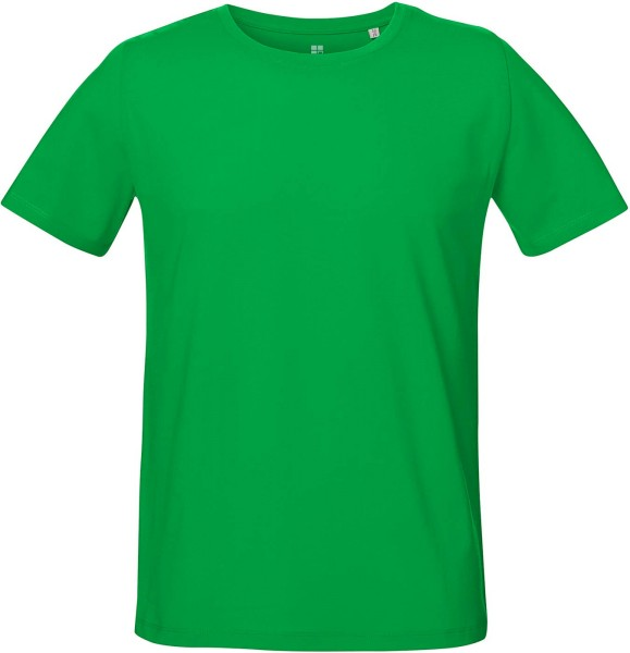 Unisex T-Shirt mit Seitenschlitzen - fresh green