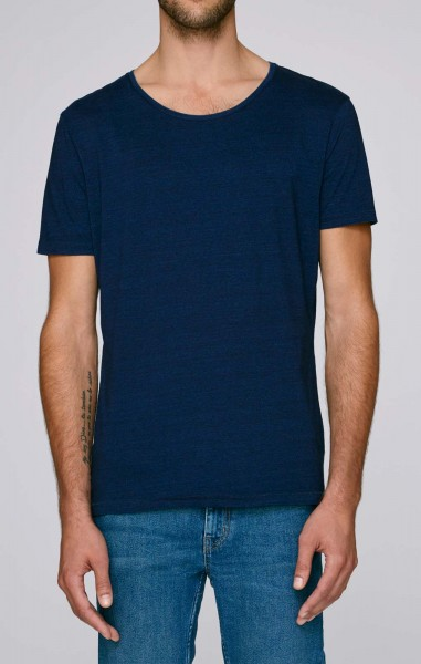 Enjoys Denim - T-Shirt aus Bio-Baumwolle - dark washed indigo - Bild 1