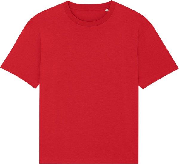 Oversized T-Shirt aus Bio-Baumwolle - red