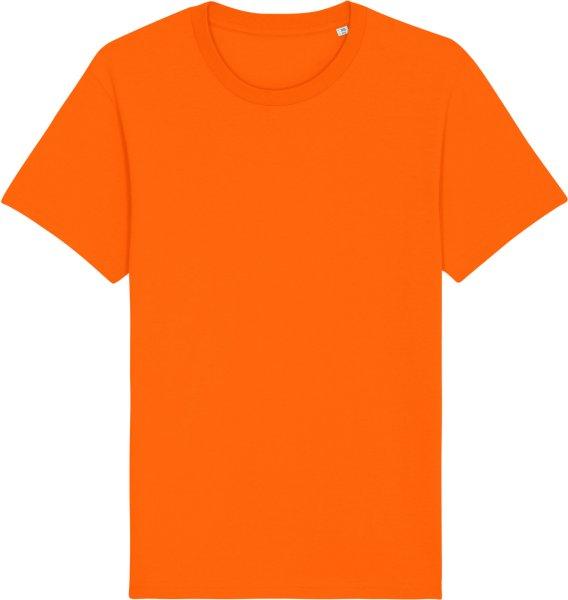 Basic T-Shirt aus Bio-Baumwolle - bright orange