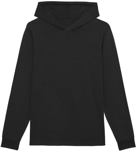 Unisex Jersey-Hoodie aus Bio-Baumwolle - black