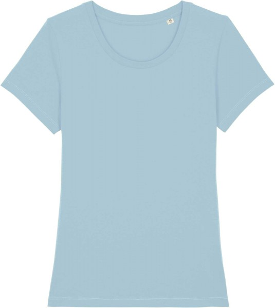 T-Shirt aus Bio-Baumwolle - sky blue