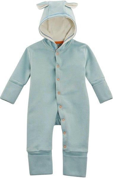 Baby Overall aus Bio-Baumwolle - dusty aqua