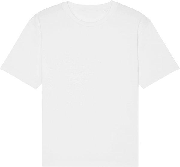 Oversized T-Shirt aus Bio-Baumwolle - white