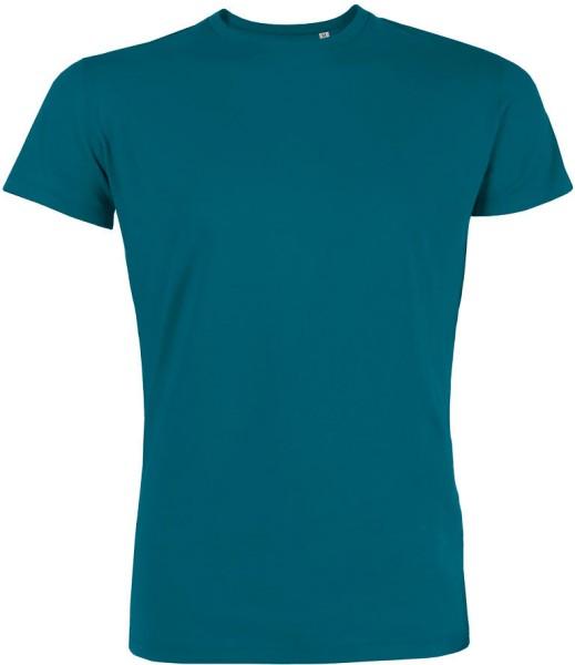 Leads - T-Shirt aus Bio-Baumwolle - petrol