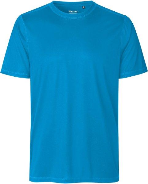 Performance T-Shirt aus recyceltem Polyester - sapphire