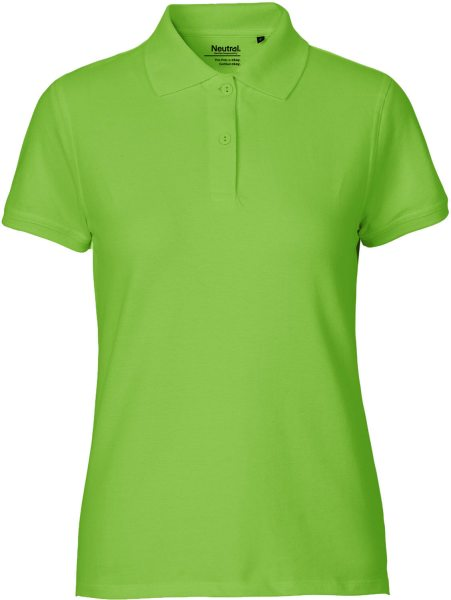Classic Polo-Shirt aus Fairtrade Bio-Baumwolle - lime