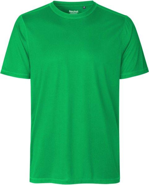 Performance T-Shirt aus recyceltem Polyester - green
