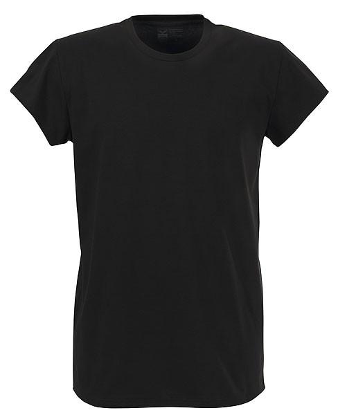 Change - T-Shirt mit Rundhalsausschnitt - Biobaumwolle schwarz - Bild 1