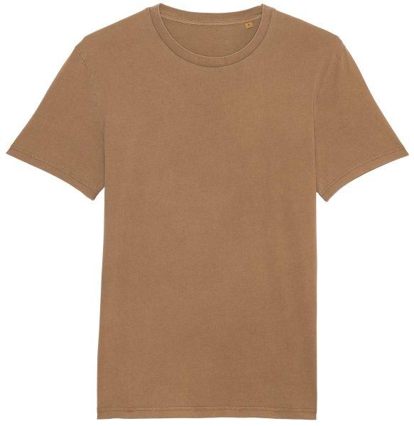 Vintage T-Shirt aus Bio-Baumwolle - g. dyed caramel