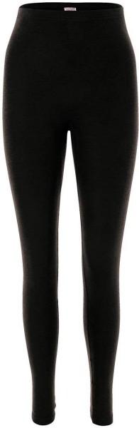 Leggings - Wolle/Seide schwarz