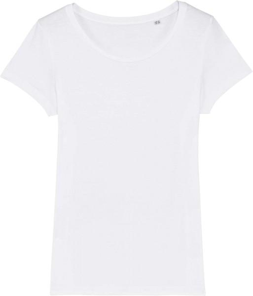 Jersey-Shirt aus Bio-Baumwolle - white
