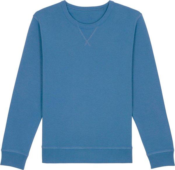 Vintage Sweatshirt aus Bio-Baumwolle - g. dyed cadet blue