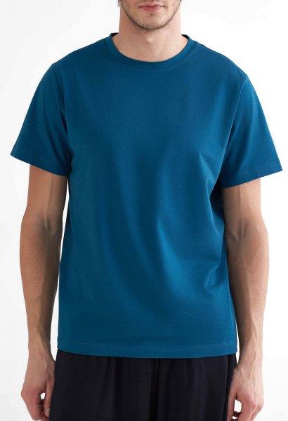 Active T-Shirt aus Bio-Baumwolle & Modal - petrol