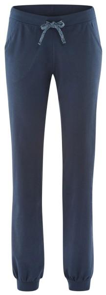 Damen Relax-Hose aus Bio-Baumwolle - night blue
