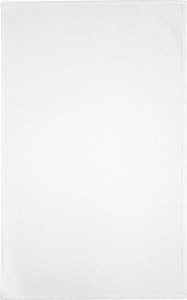 Frottee Badematte aus Bio-Baumwolle 36x60 cm - weiss