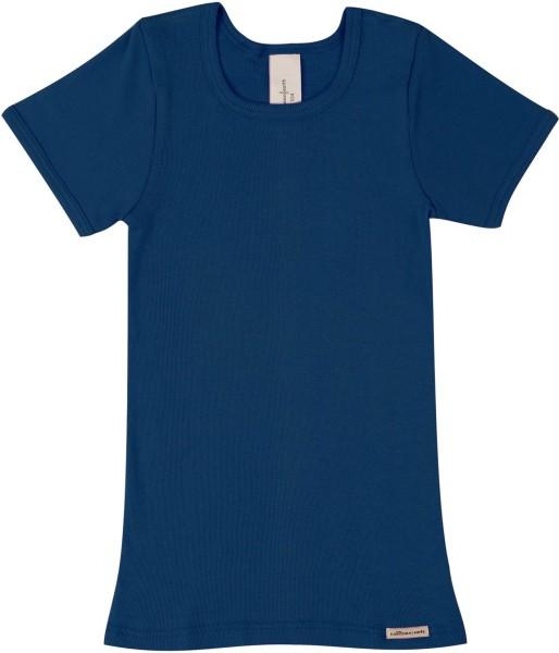 Kinder Shirt aus Fairtrade Biobaumwolle - marine - Bild 1