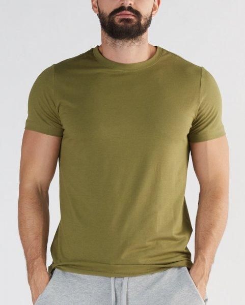 Active T-Shirt aus Bio-Baumwolle & Modal - olive