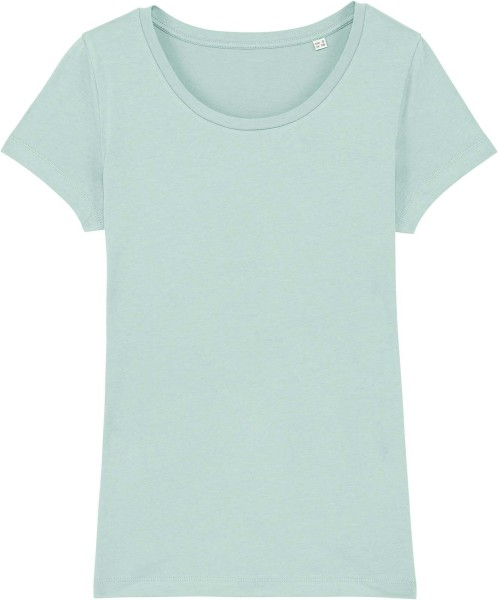 Jersey-Shirt aus Bio-Baumwolle - caribbean blue