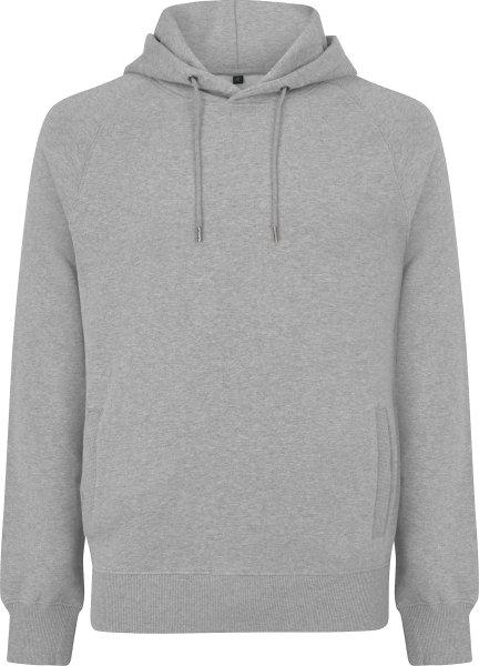 Schwerer Unisex Hoodie aus Biobaumwolle - melange grey