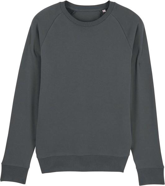 Sweatshirt aus Bio-Baumwolle - anthracite