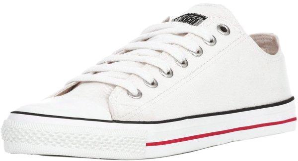 Lo Cut Sneaker in weiß - Biobaumwolle und Naturkautschuk
