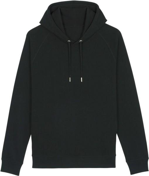 Unisex Raglan-Hoodie aus Bio-Baumwolle - black