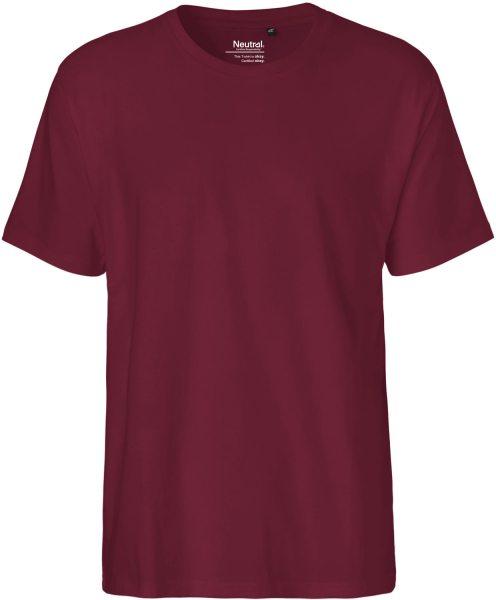 Classic T-Shirt aus Fairtrade Bio-Baumwolle - bordeaux