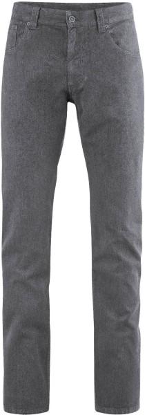 Jerome - Five-Pocket Hose aus Hanf/Bio-Baumwolle - stone