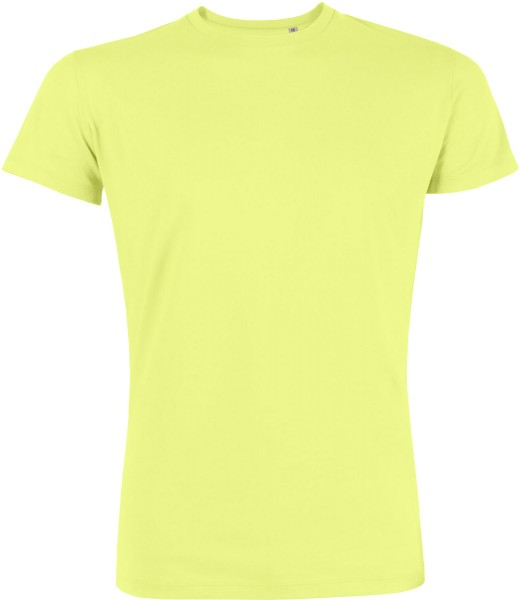 Leads - Kurzarmshirt aus Bio-Baumwolle - sunny lime