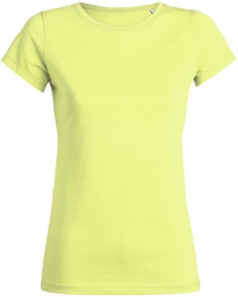 Wants - T-Shirt aus Bio-Baumwolle - sunny lime