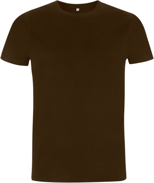 Organic T-Shirt - dark brown
