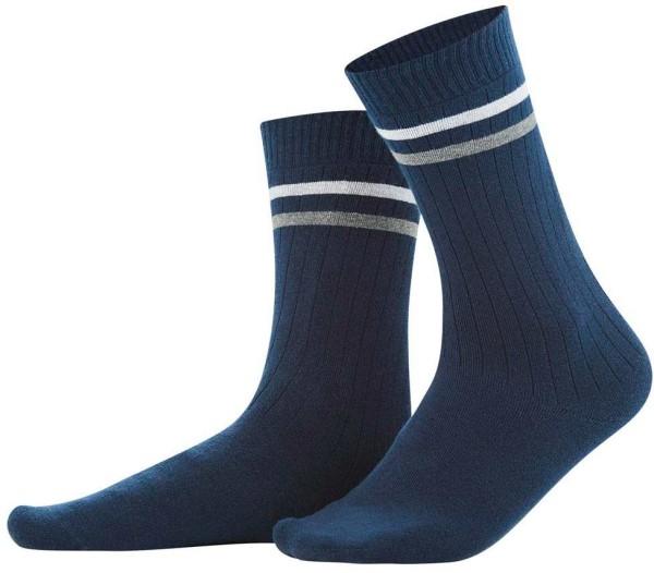 Herren Socken aus Bio-Baumwolle – navy blue