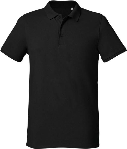 Competes - Klassisches Poloshirt aus Bio-Baumwolle - schwarz