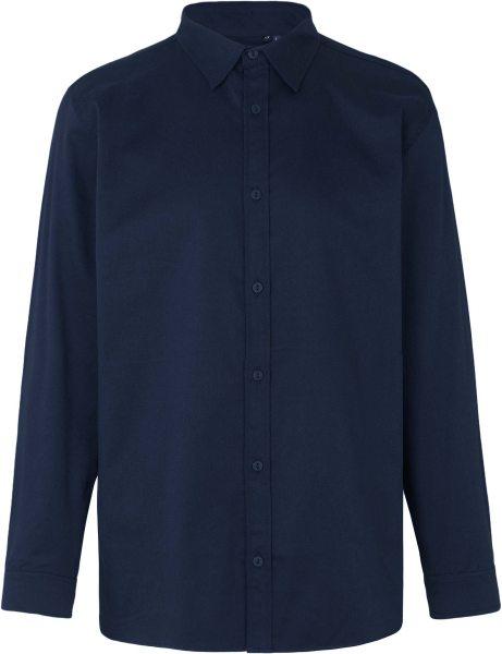 Hemd aus Fairtrade Bio-Baumwolle - navy