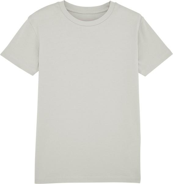 Kinder T-Shirt aus Bio-Baumwolle - light opaline