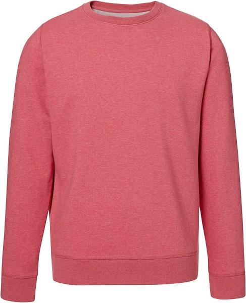 Rise - Sweatshirt aus Bio-Baumwolle - heather cranberry