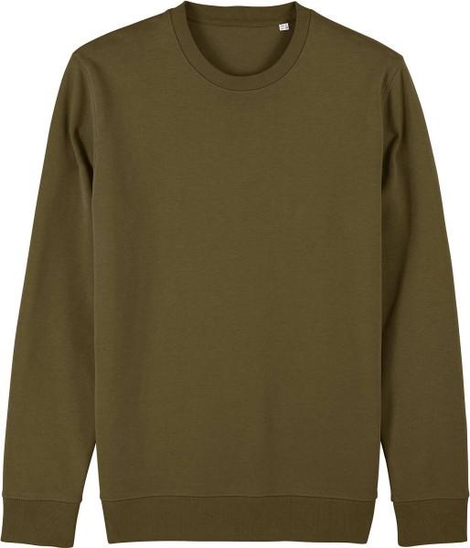 Unisex Sweatshirt aus Bio-Baumwolle - british khaki